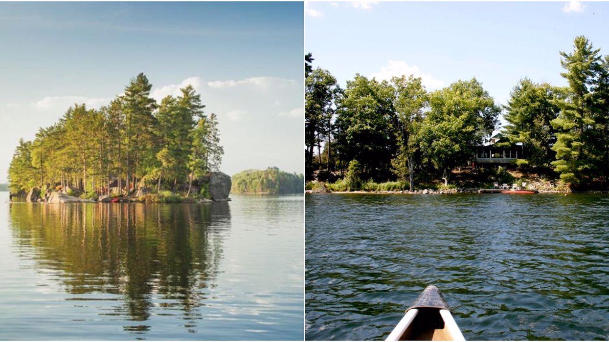 20 îles près de Montréal à louer avec tes amis pour pas cher cet été