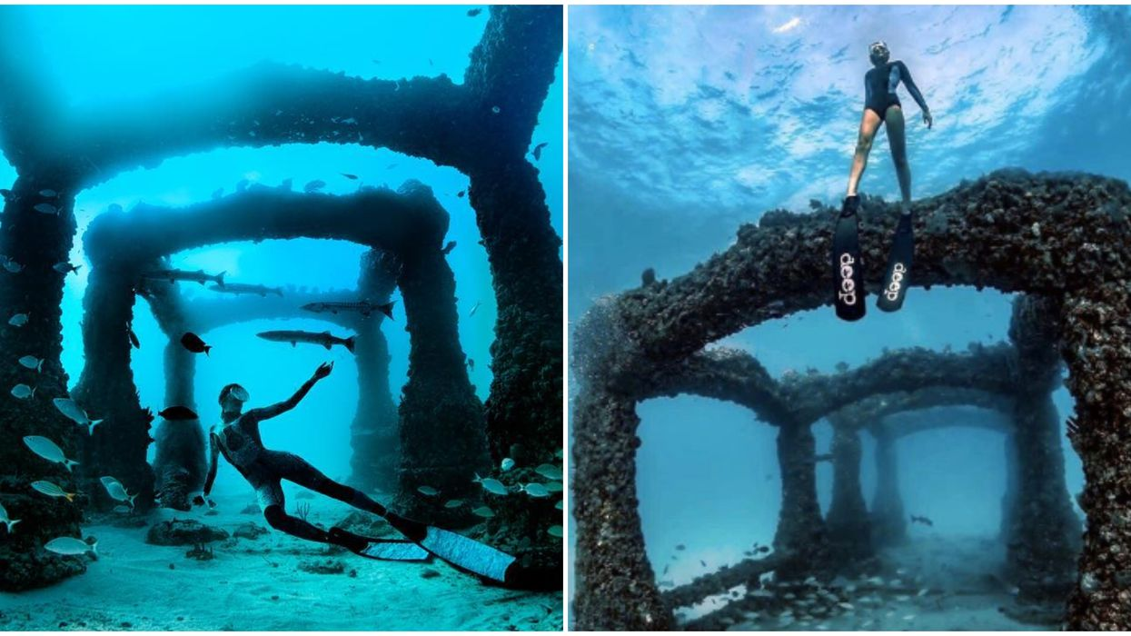 This Underwater Memorial In Florida Will Take You Back To The Lost City Of Atlantis