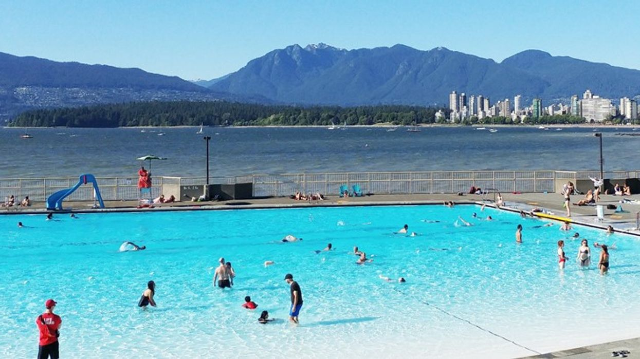 Vancouver's Oceanfront Turquoise Swimming Pool Is Opening This Spring
