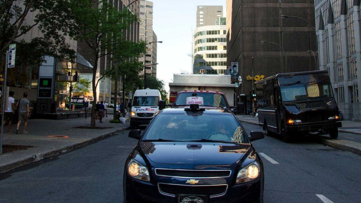 Ça va être le chaos sur les routes aujourd'hui au Québec en raison de la grève générale des taxis