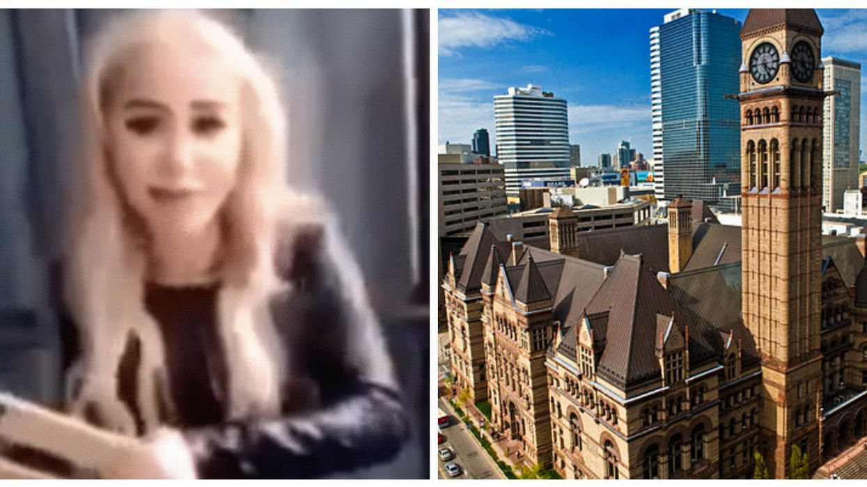 """Toronto's """"Chair Girl"""" Case Back In Court Today For The First Time Since Marcella Zoia Was Charged"""