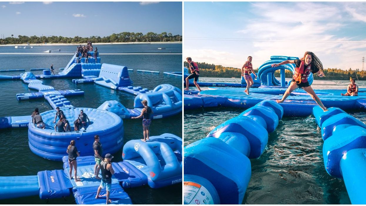 Orlando's Latest Inflatable Water Park Just Opened And You Don't Want to Miss It