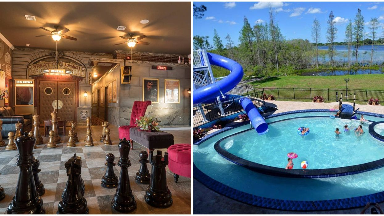 This Huge Airbnb In Florida Has Its Own Theme Park