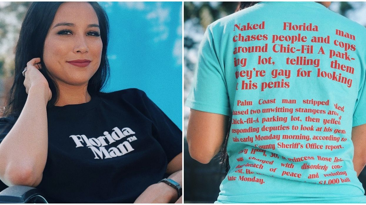 There Is An Official Line Of Florida Man Merchandise And You Definitely Need It