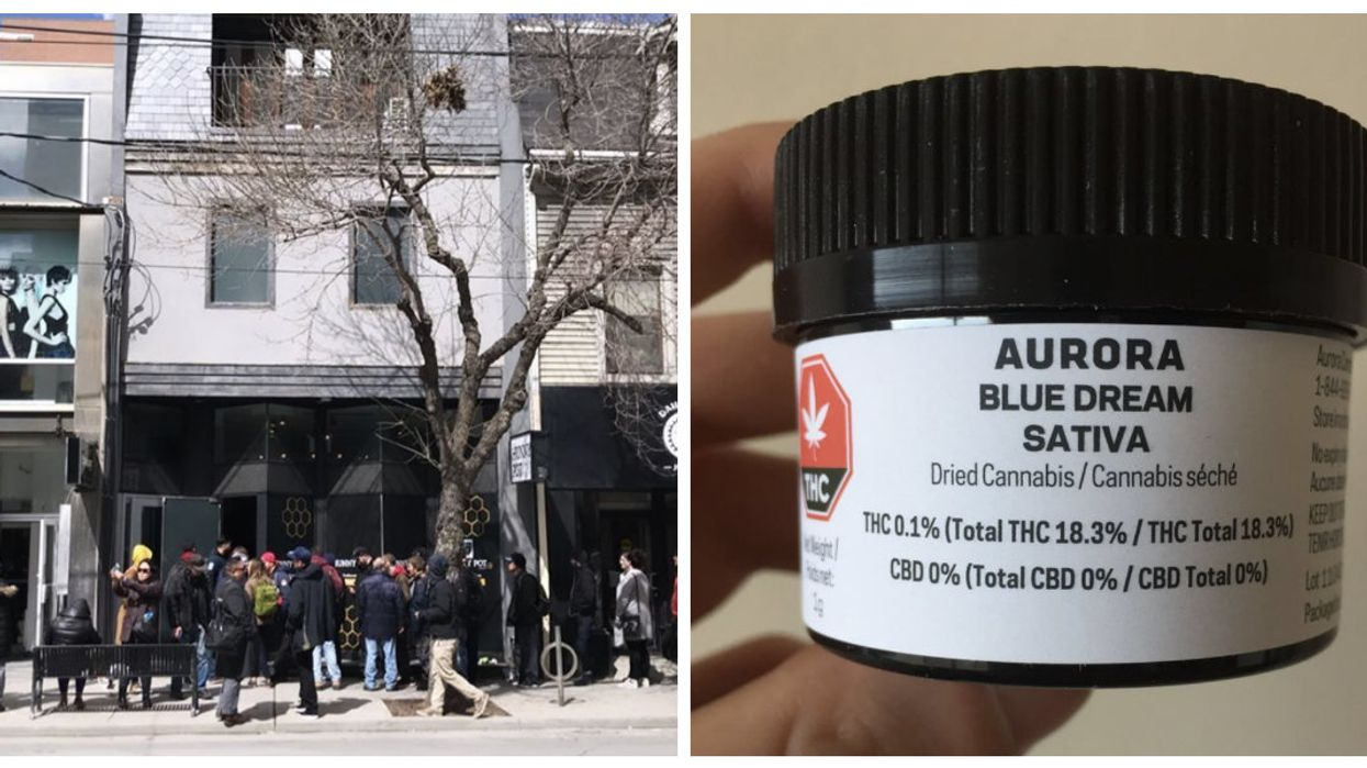 I Bought Weed From Toronto's First Legal Cannabis Store And Here's What I Thought