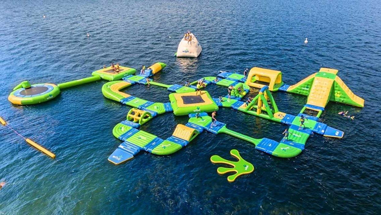 Ontario Is Getting A Giant Floating Water Park This Summer (Photos)