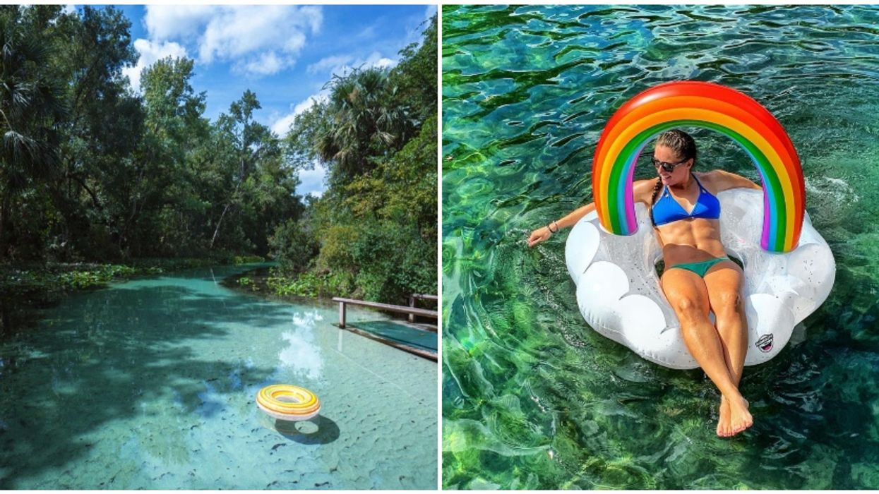 You Will Want To Add This Natural Lazy River Near Orlando To Your Summer Bucket List