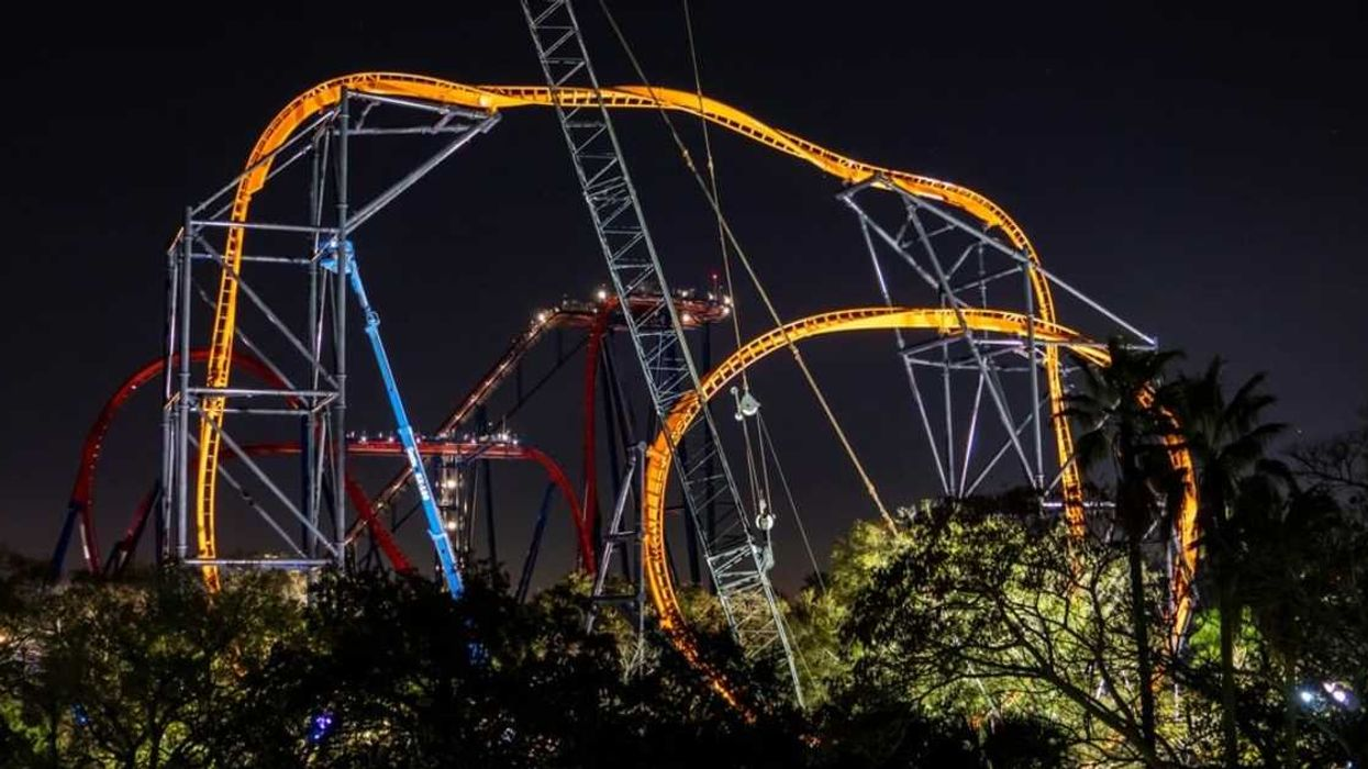 It's Official, Busch Garden's New Coaster Will Be Opening This Month