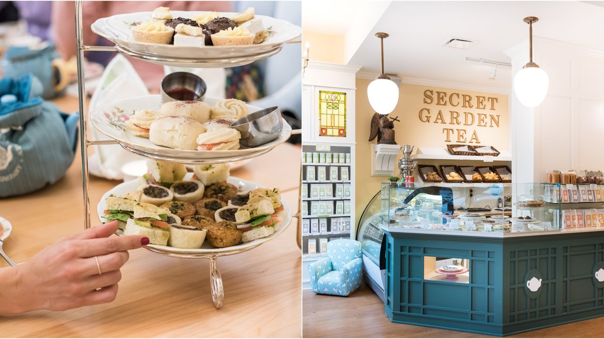 You Can Go To The Most Decadent Vegan High Tea In Vancouver This Spring
