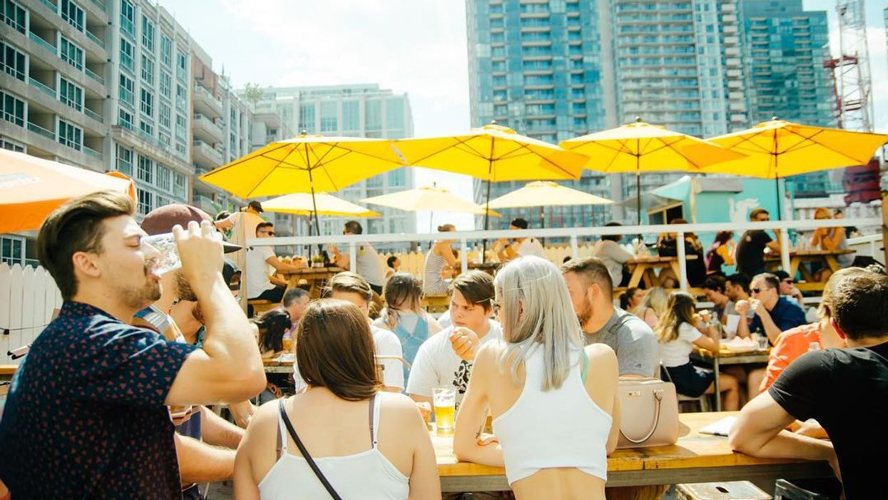 An All-New Hidden Patio Is Opening In Toronto This Summer