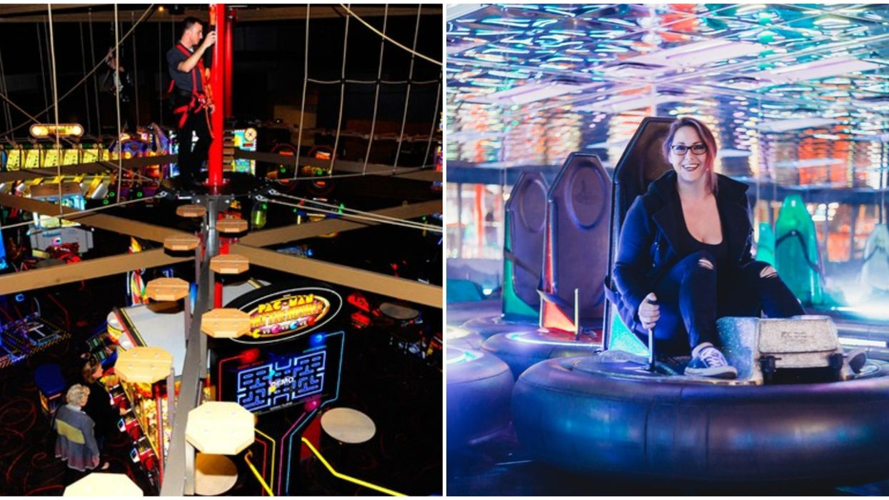 Austin Is Getting A Massive New Arcade With Bumper Cars And Giant Foosball
