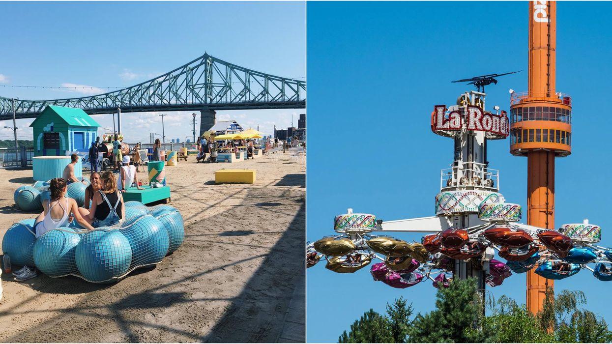 Voici les dates d'ouverture de tous tes endroits préférés de l'été à Montréal et environs