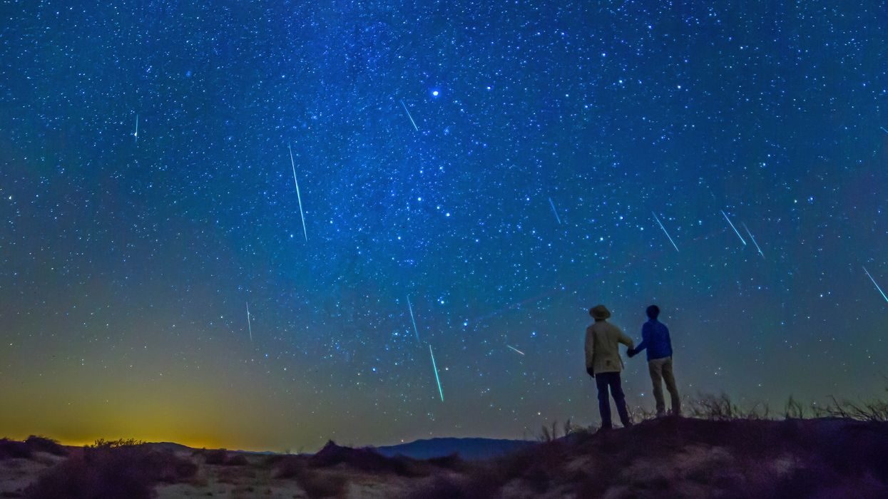 A Breathtaking Meteor Shower Will Light Up The Texas Sky This Month