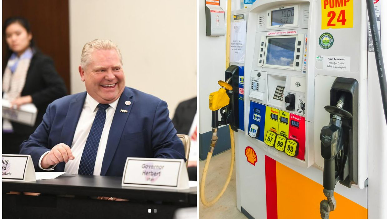 Ontario Government Wants To Force Gas Stations To Display Their Anti-Carbon Tax Stickers Or Face $10,000 Fines