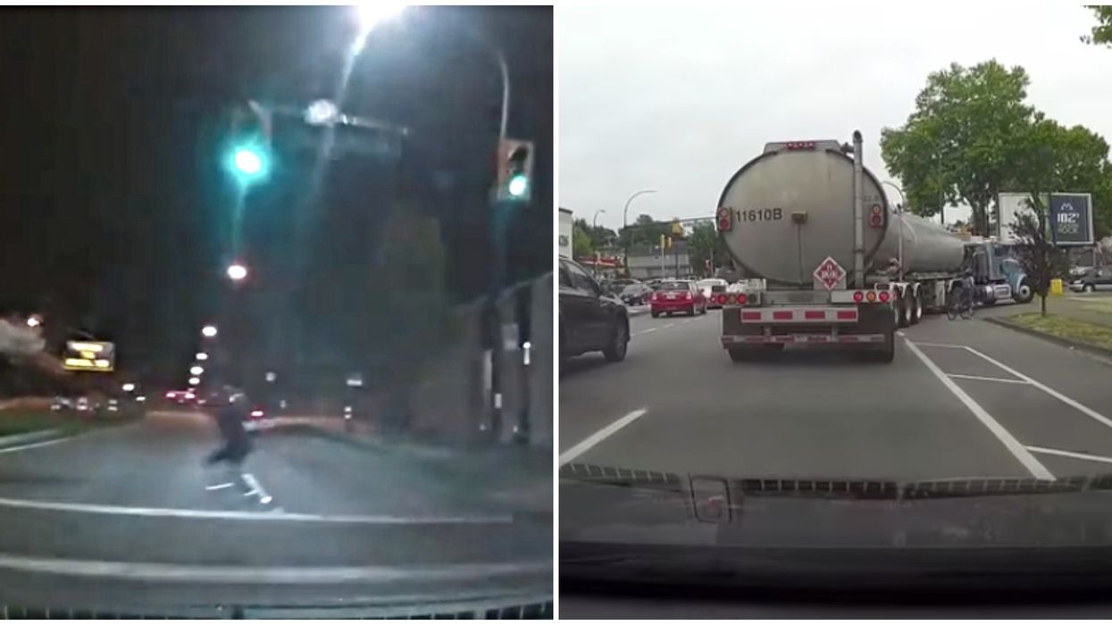 All The Proof You Need That Many Vancouver Drivers Have No Idea What They're Doing (VIDEOS)