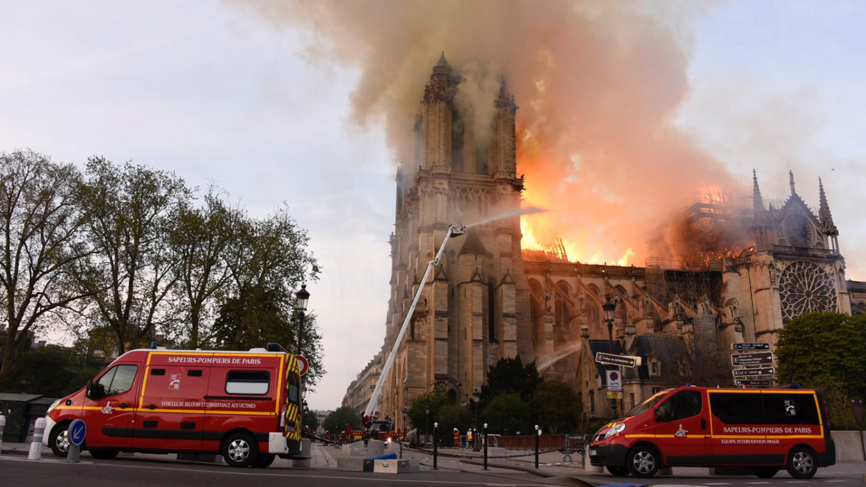 France Asks The World For Their Help To Rebuild Paris' Notre Dame Cathedral After Devastating Fire