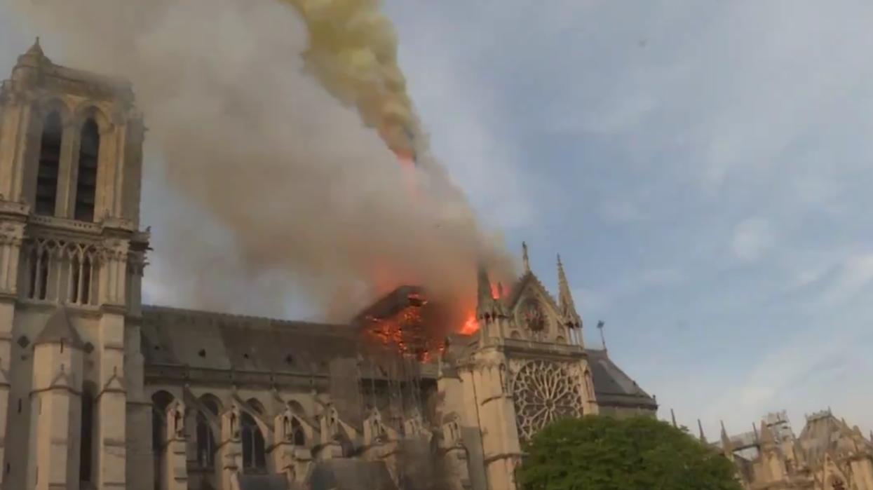 Voici à quoi ressemble la cathédrale Notre-Dame de Paris après l'incendie majeur