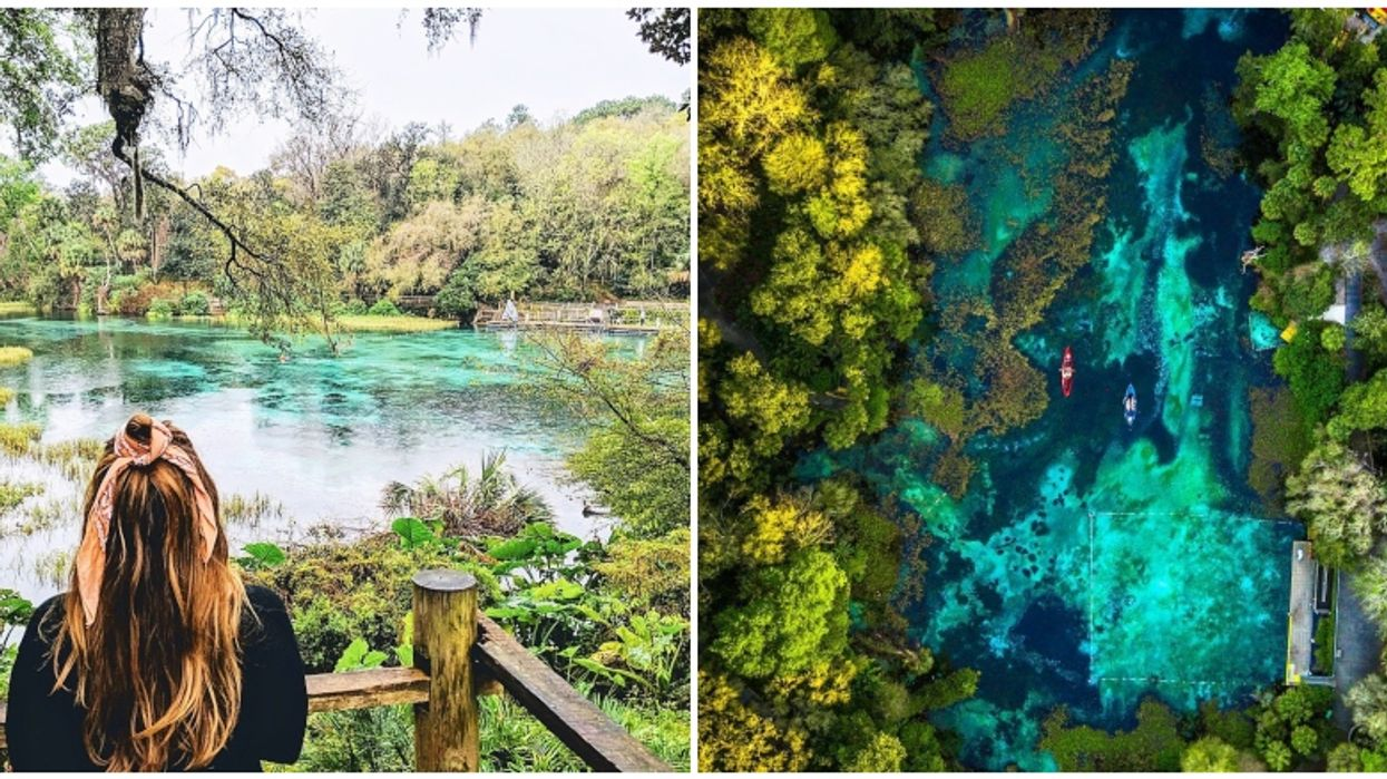 A State Park Near Orlando Is Home To The Most Gorgeous Clear Blue Spring