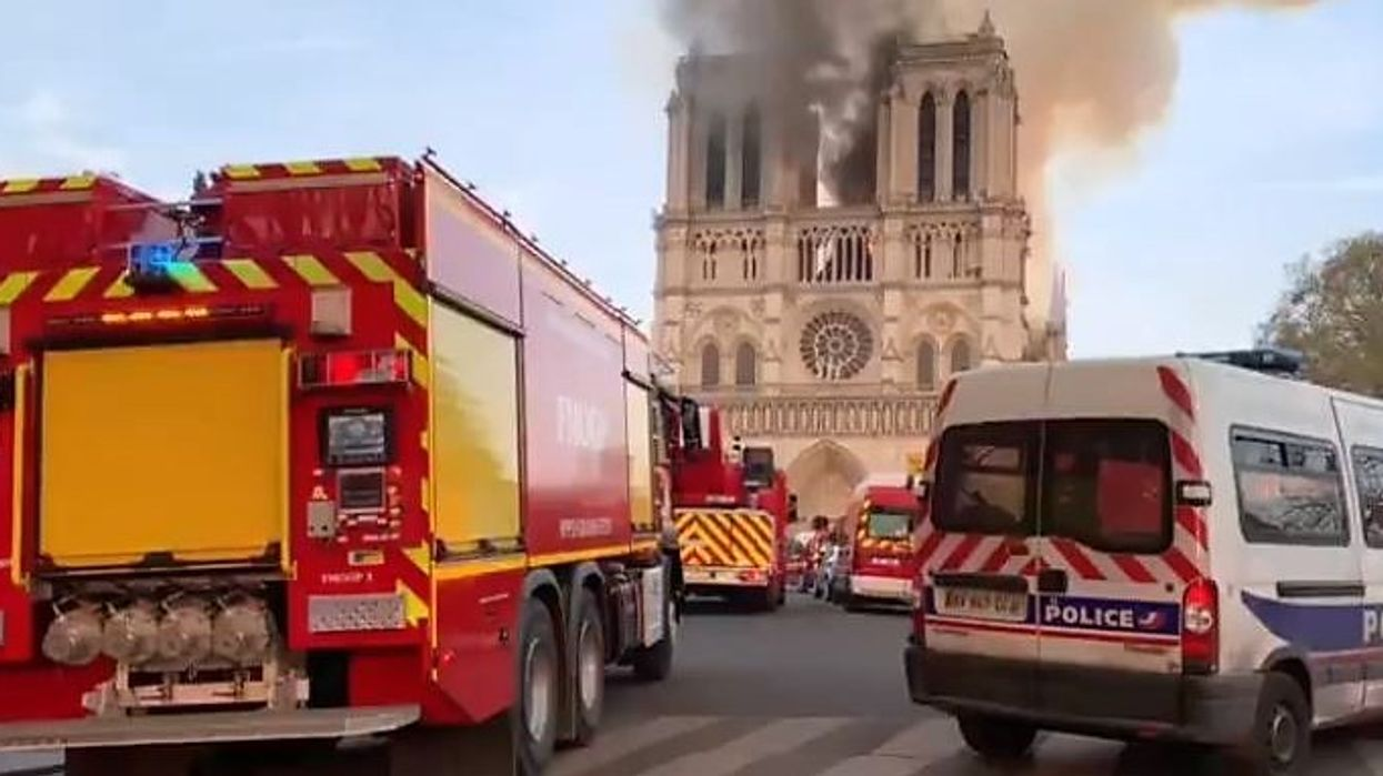 Notre Dame Cathedral Fire Still Burning In Paris But Rain Showers May Extinguish It Tonight