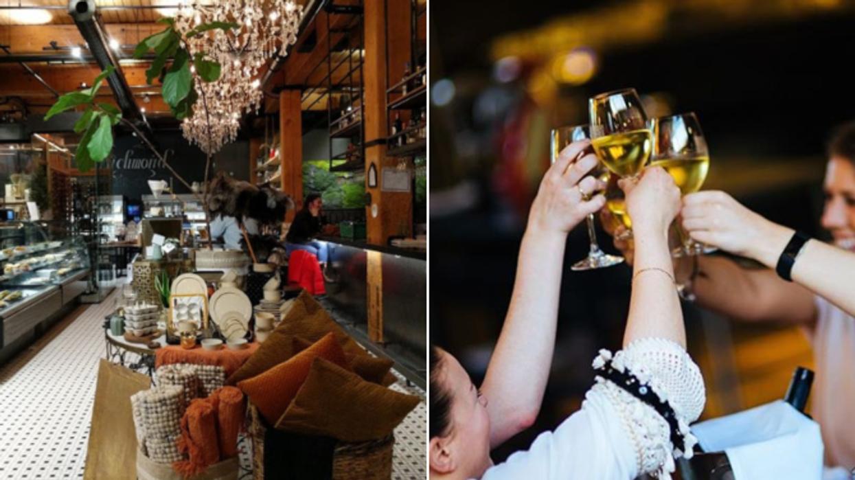 Tu vas pouvoir aller magasiner avec un verre de vin à la main cette semaine à Montréal