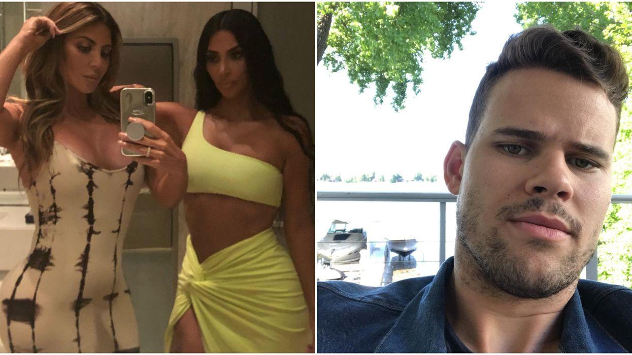 Kim Kardashian's BFF Clapped Back At People Who Said She Flirted With Kris Humphries