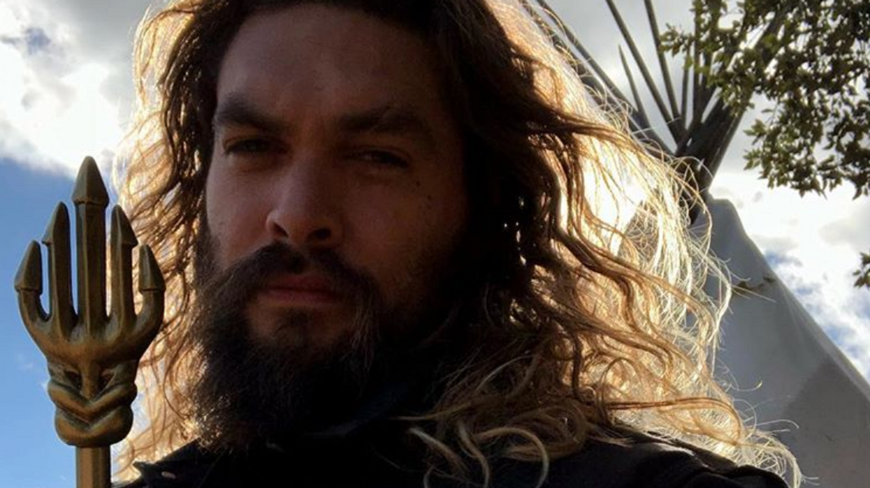 Jason Momoa Just Shaved His Massive Beard And He Looks Unrecognizable