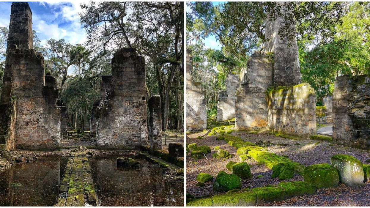 These Florida Ruins Will Make You Feel Like You're Exploring Ancient Mexico
