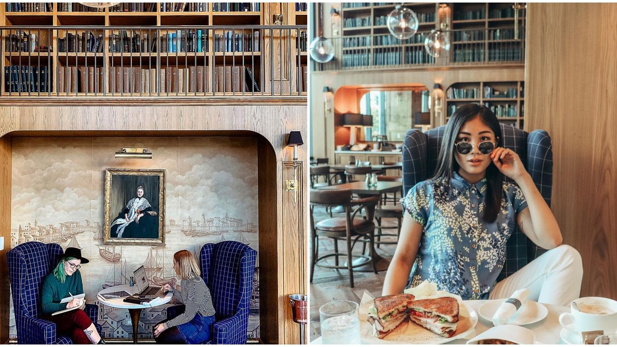 This Hidden Library In St. Pete Is The Classiest Eatery Around Town