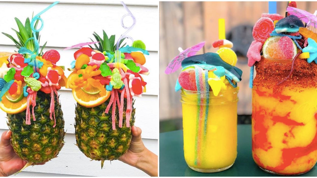 This Crazy Houston Spot Makes The Largest Tropical Drinks In Texas