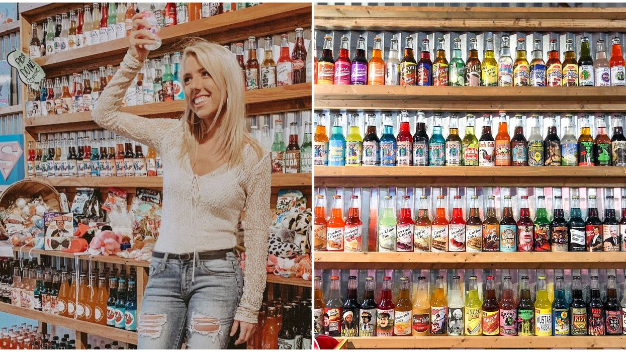 This Candy Shop Near Tampa Has The Most Wild Soda Flavors You Can Possibly Taste