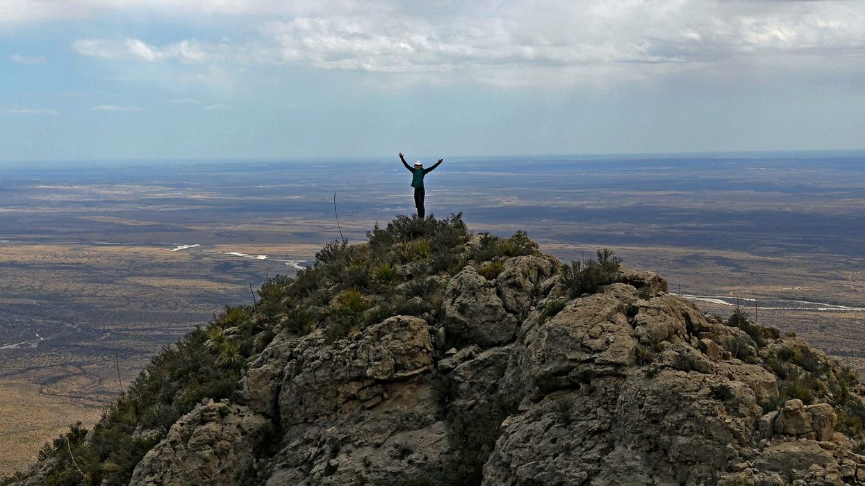 You Can Travel From Texas To New Mexico On An Incredible 100-Mile Long Trail