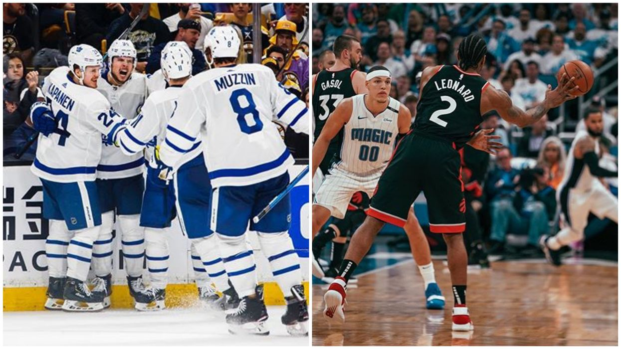 6 Major Sports Teams From The 6ix Won Big Last Night