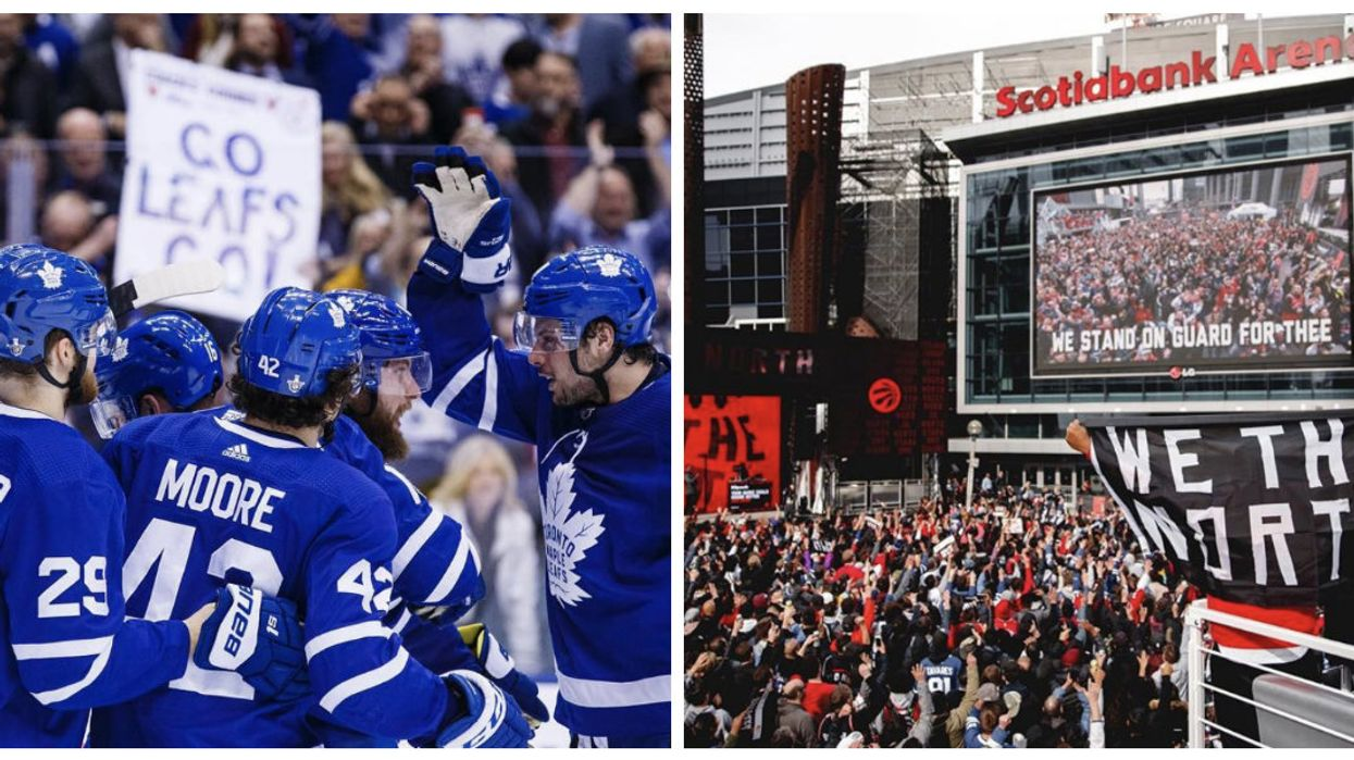 """Tonight: Can The Leafs Break Their """"Curse"""" & Will The Raptors Make History?"""