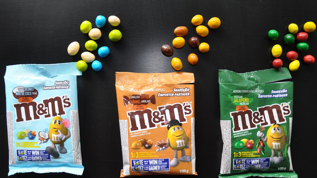 M&M'S Just Released 3 New Insane Flavours And They're Available In Canada