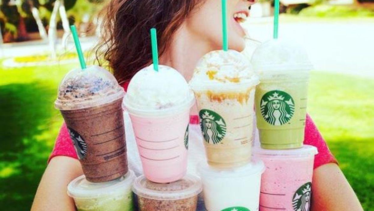 Starbucks lance l'été avec un nouveau frappuccino et ça goûte les vacances