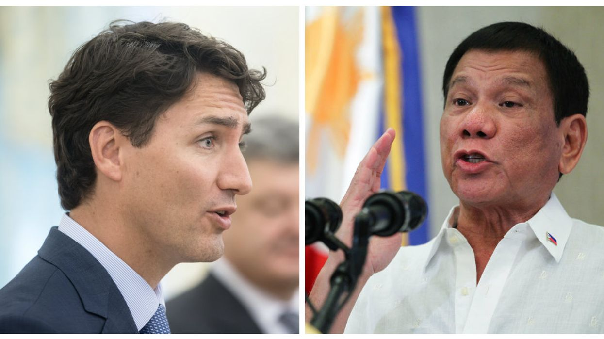 """Philippines President Threatens Canada With War For Using Their Land As A """"Dump Site"""""""
