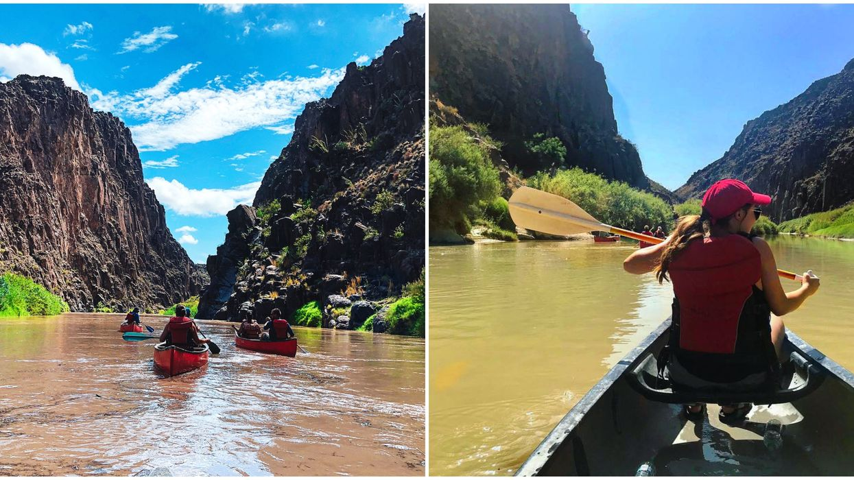 You Can Take The Most Beautiful Kayaking Trip Down The Big Bend River In Texas