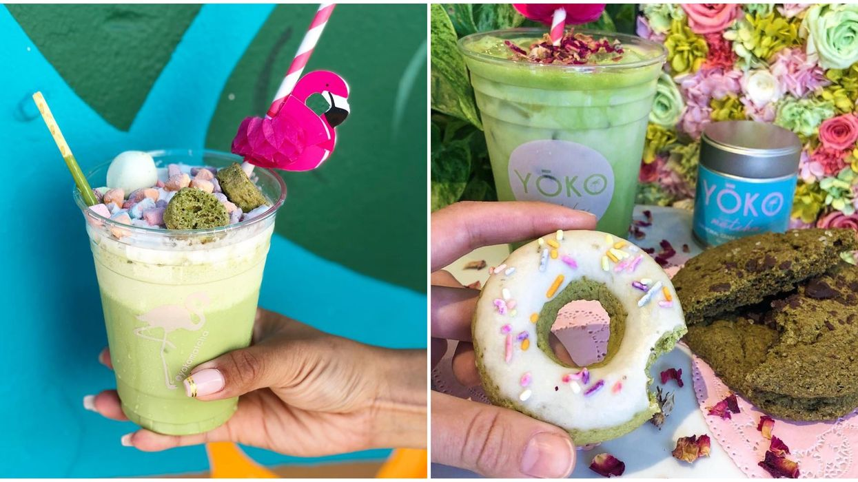 This Japanese Dessert Shop In Miami Serves All Things Matcha