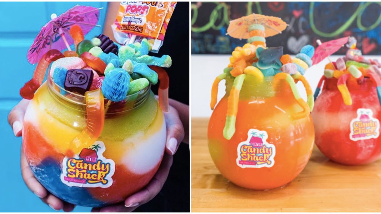 This Houston Candy Shop Makes The Craziest Fishbowl Daiquiris For A Wild Night Out
