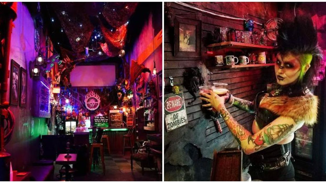 There Is A Post-Apocalyptic 'Fallout' Themed Bar Hidden Inside Of A Comic Shop In Orlando