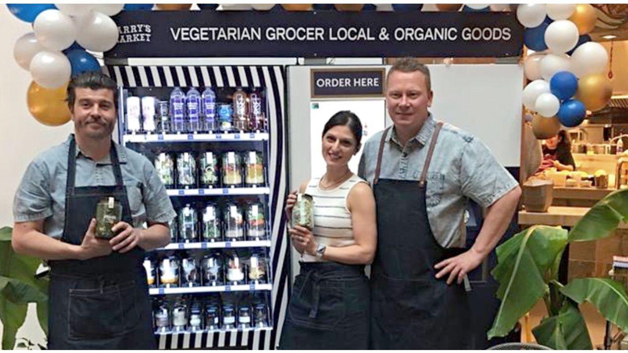 Vancouver Just Got A Salad Vending Machine Because It's Vancouver (PHOTOS)