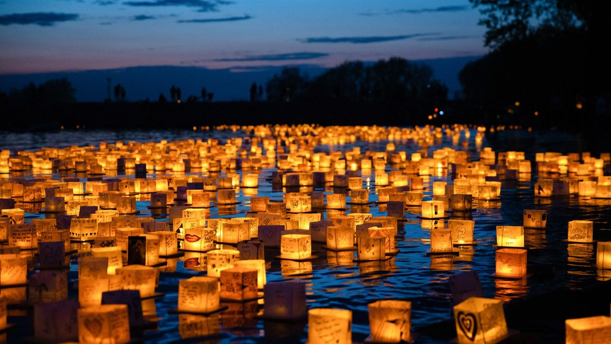 A Stunning Water Lantern Festival Is Coming To Toronto This Summer