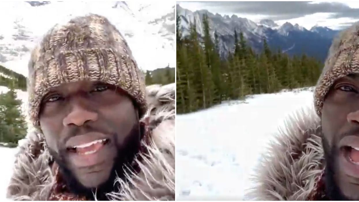 """Kevin Hart Says He's """"Blown Away"""" By Canada's Beauty In New Instagram Video"""