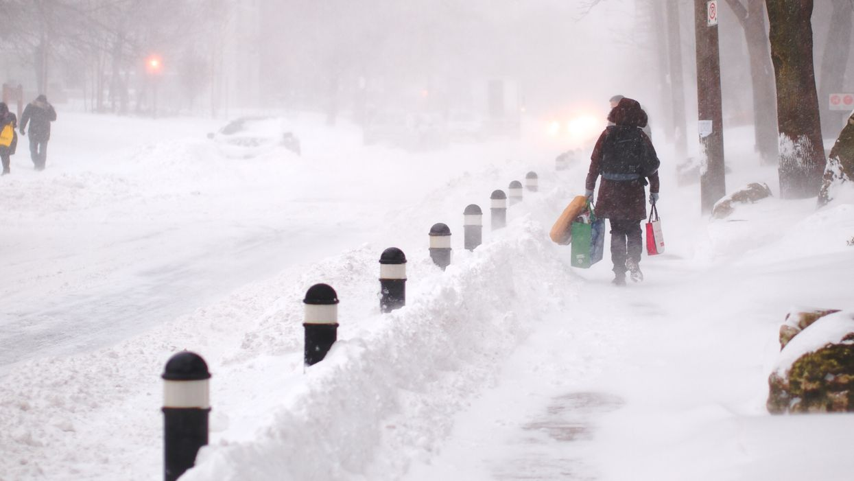 Parts Of Ontario Forecasted To Receive Up To 20 Cm Of Snow This Weekend