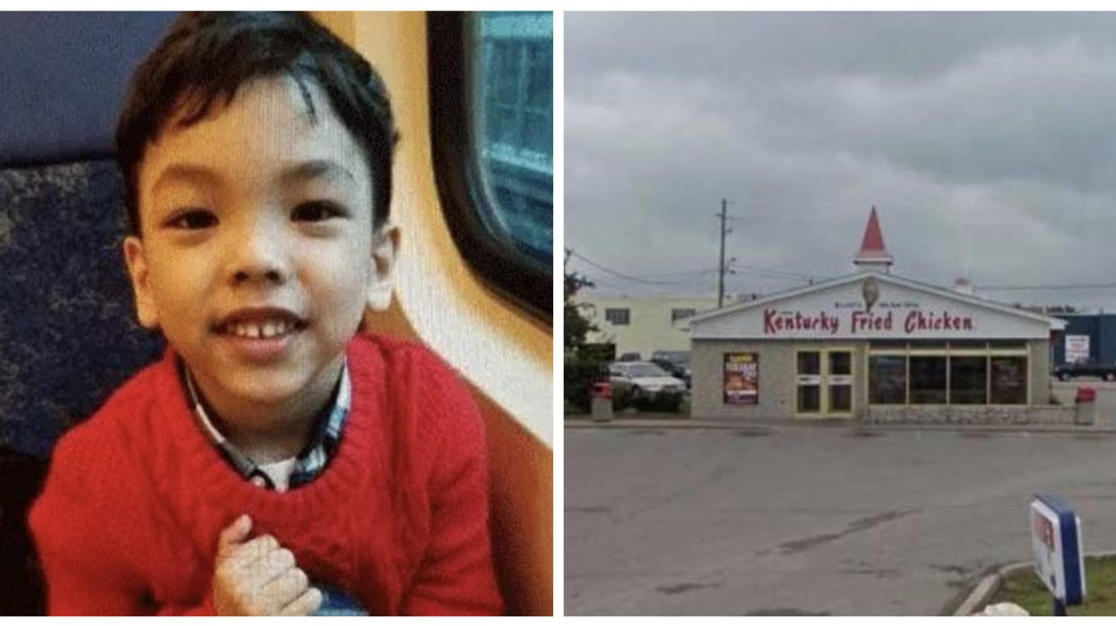An Ontario KFC Employee Was The First To Spot The Boy In Yesterday's Amber Alert