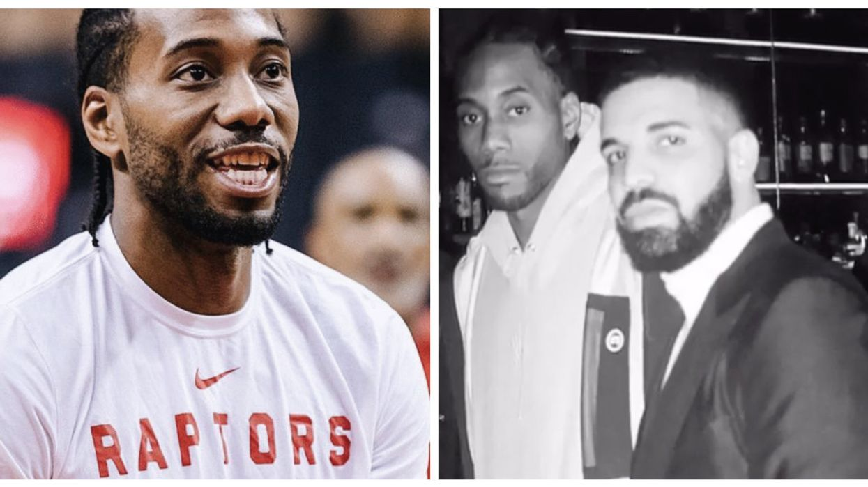Kawhi Leonard Just Made A Hilarious Comment About His Photo With Drake (VIDEO)