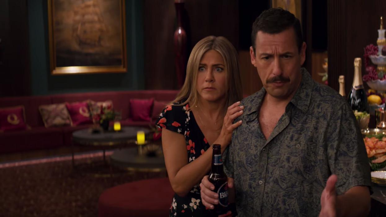 Adam Sandler & Jennifer Aniston's New Netflix Movie Is The Best Summer Comedy
