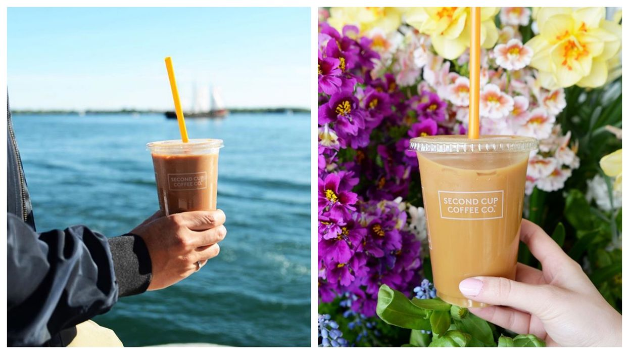 Second Cup Is Launching Brand New Caramel Drinks Across Canada Just In Time For Summer