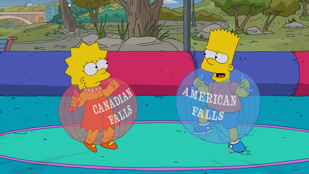 Many Viewers Weren't Impressed With Last Night's Canadian-Themed 'Simpsons' Episode