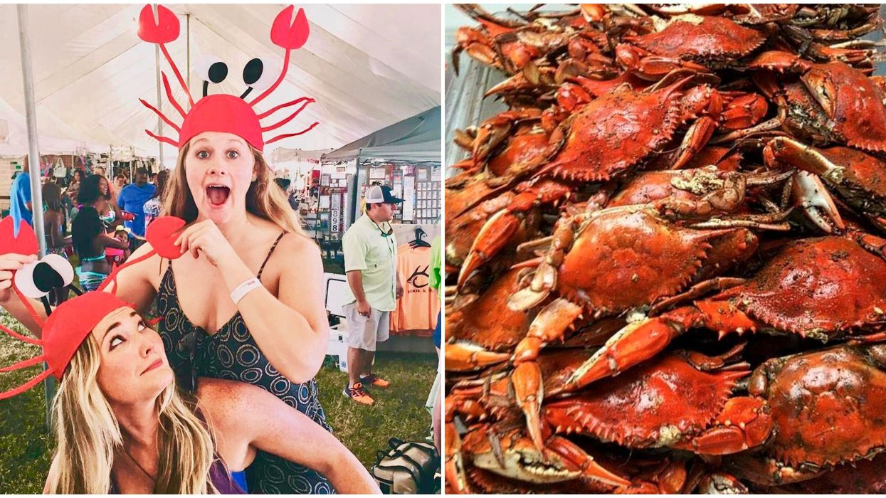 A Massive Crab Festival Is Happening Near Galveston This May